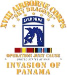 Just Cause - XVIII Airborne Corps w Svc Ribbons