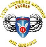 Army - 11th ABN Div -  Air Assault Badge