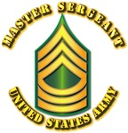 Army - Master Sergeant E-8 w Text