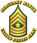 Army - Sergeant Major E-9 w Text