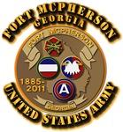 Army -  Installation - Ft McPherson GA