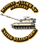 Army - Arty - M109A2 -155mm SP Deser