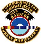 Army - 29th RCT - w Korean Svc