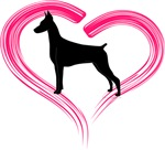 Heart My Doberman