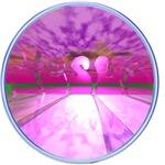 Pink Glass Jesus 3D