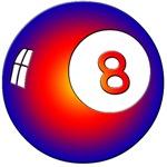 Rainbow Eight Ball