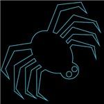 Blue Spider Halloween