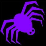 Groovy Purple Spider