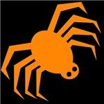 Groovy Orange Spider