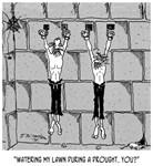 Water Conservation Cartoon 9470
