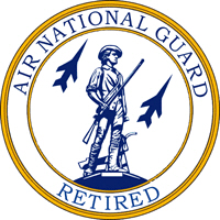 <P>Air National Guard <BR>Retired