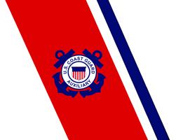<P>Coast Guard Auxiliary<BR> Racing Stripe