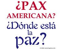 Pax Americana (Spanish)