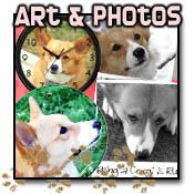 Corgi Paintings and Photography
