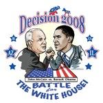 Obama vs McCain 2008 Political Gear