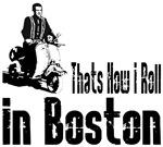 Vespa Scooter Boston