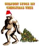 BIGFOOT STOLE MY CHRISTMAS TREE