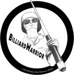Billiard Warrior Pool Playing Soldier