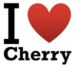I Love Cherry Light Tee