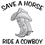 SAVE A HORSE...