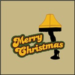 Merry Christmas Leg Lamp from A Christmas Story