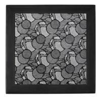 Black Grey Geometric