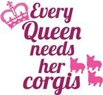 Corgi Queen