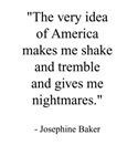 Josephine Baker & America