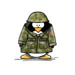 US Soldier Penguin