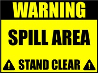 Spill area