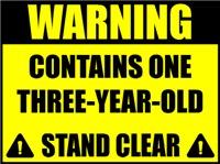 Warning three