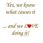 Love doing it