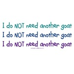 Don't need another goat mantra
