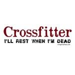 Crossfitter rest when dead
