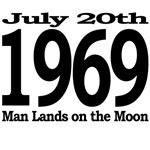 1969 - Man Lands on the Moon