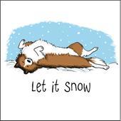 Sheltie Let It Snow
