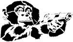 Black chimp
