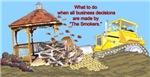 Bulldoze the Smoker's Gazebo