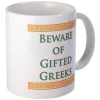 Gifted Greeks Drinkware