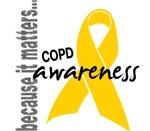 Awareness 1 COPD Tees & Merchandise