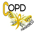 Butterfly 3 COPD Awareness T-Shirts