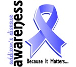 Awareness 5 Addison's Disease Shirts