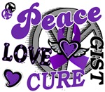 Peace Love Cure GIST 2 Shirts and Gifts