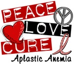 Peace Love Cure 1 Aplastic Anemia T-Shirts