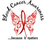 Blood Cancer Butterfly 6.1