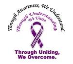 Through Awareness Cystic Fibrosis Shirts & Apparel