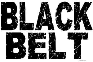 BLACK BELT - WEATHERED Black Belt T-Shirts Gifts