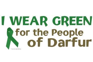 I Wear Green (People Of Darfur)