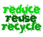 Reduce Reuse Recycle 1 Environmental Shirts