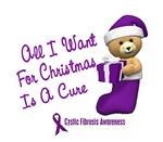 Holiday Cystic Fibrosis Shirts Gifts Ornaments